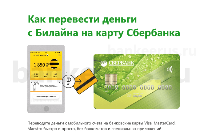 Как перевести деньги с телефона мтс на карту сбербанка без комиссии мастеркард